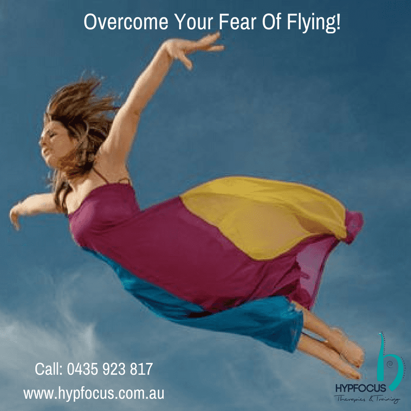 fear of flying, flying phobia, hypnotherapy for fear of flying